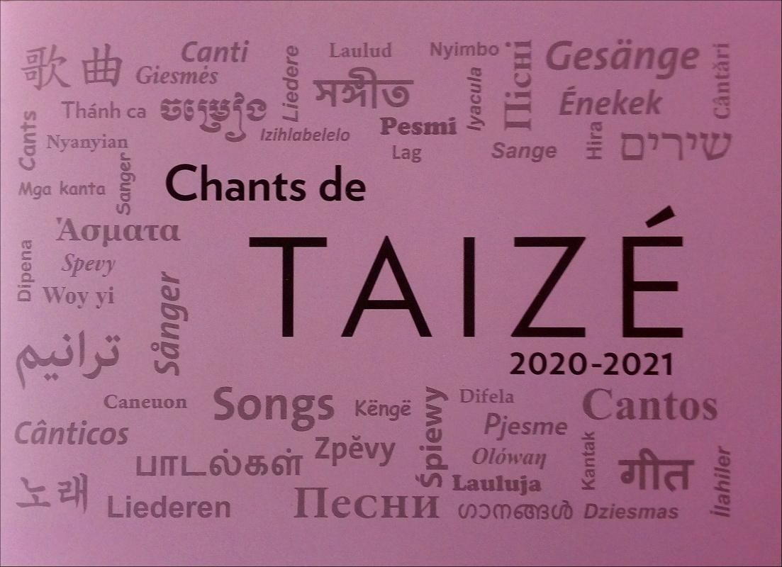 Chants de Taizé : 2020 - 2021 Violet