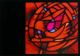 Pentecost, postcard 206