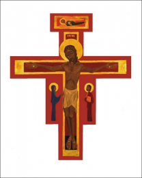 Cross of Taizé, small poster 303B