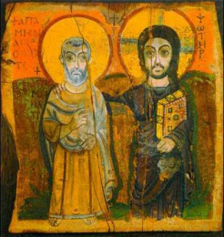 Icon on wood, 383 medium size – Christ and the Believer