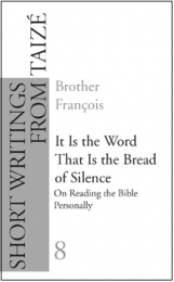 G08. It Is the Word That Is the Bread of Silence