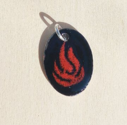 Pendant with cord (n°53)