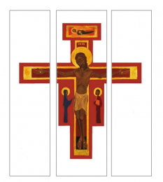 Very large cross, poster