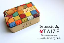 Les carrés de Taizé – biscuits artisanaux au miel de Bourgogne