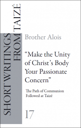 """G17 """"Make the Unity of Christ's Body Your Passionate Concern"""""""