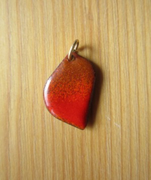 Pendant with cord (n°W4)